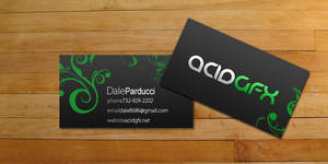 acidGFX business cards