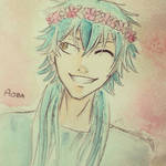 Dmmd: Aoba ma rozowy wianek