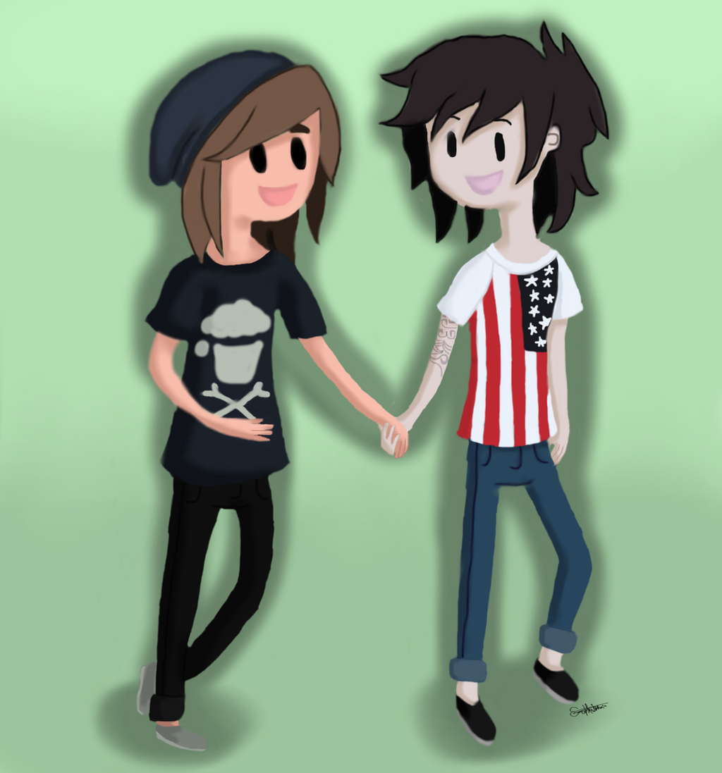 kellin quinn and vic fuentes kellic by themtrencher98 on