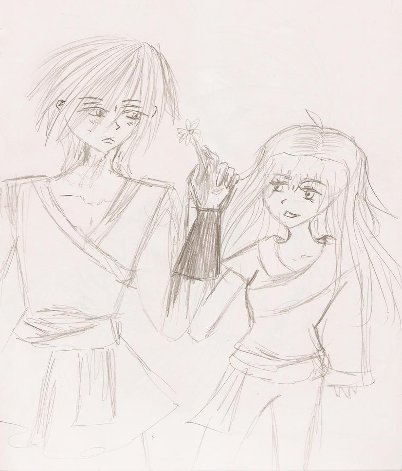 Thanatos and Serefina by Pie-inator