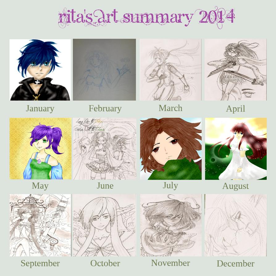 Art Summary 2014 by Pie-inator