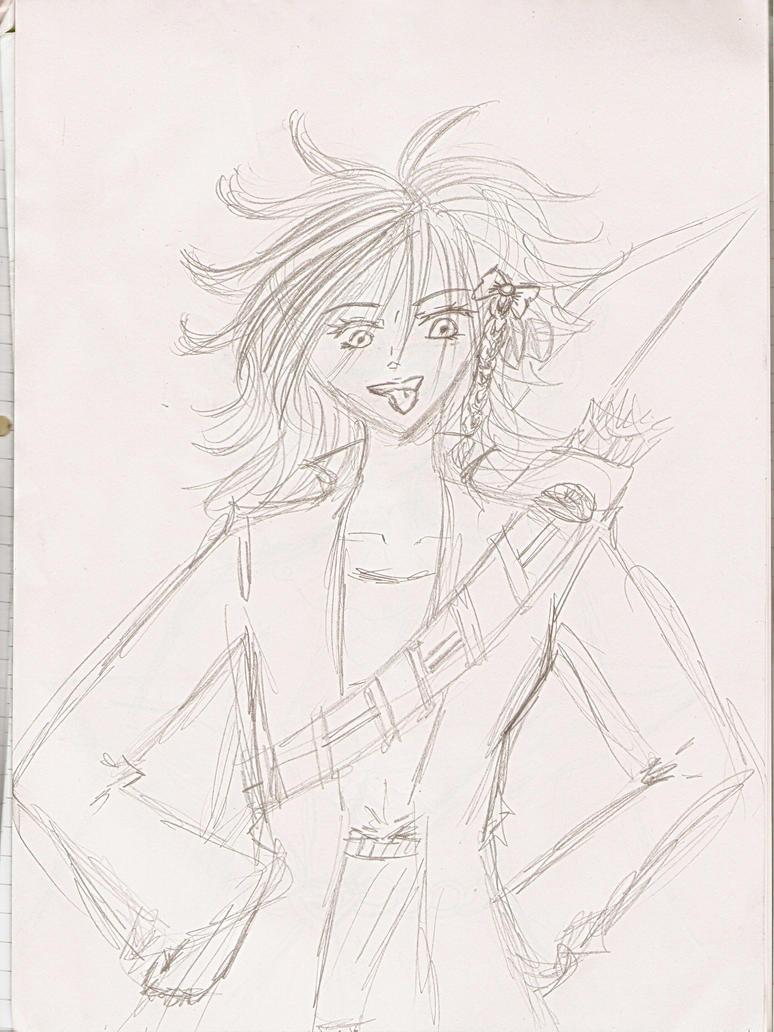 Kiera Pearson ~ final sketch by Pie-inator