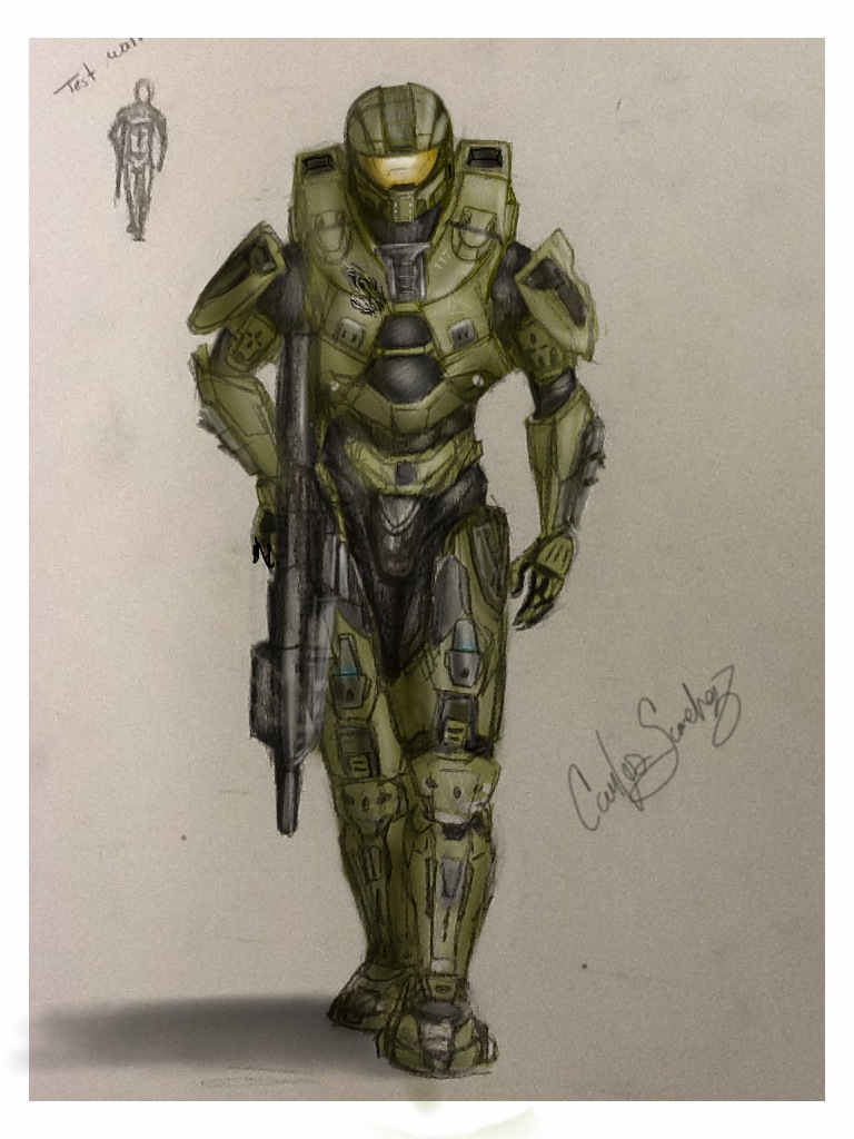 Master Chief by casanchez3