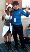 Assassin's Creed Meets Star Trek by SadieAlucard