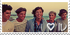 I love 1D Stamp by kimbo2450