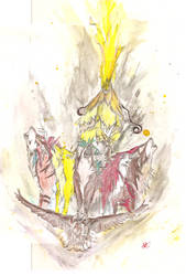 Giderah by thesketch-artist