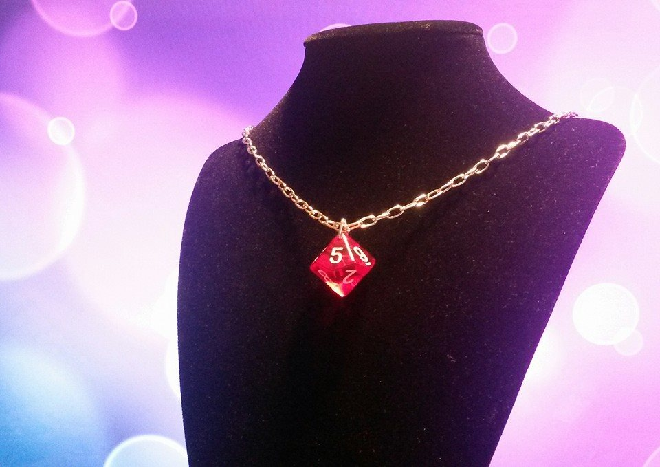 Dice Necklace 2 by Ajalee-Jewelry