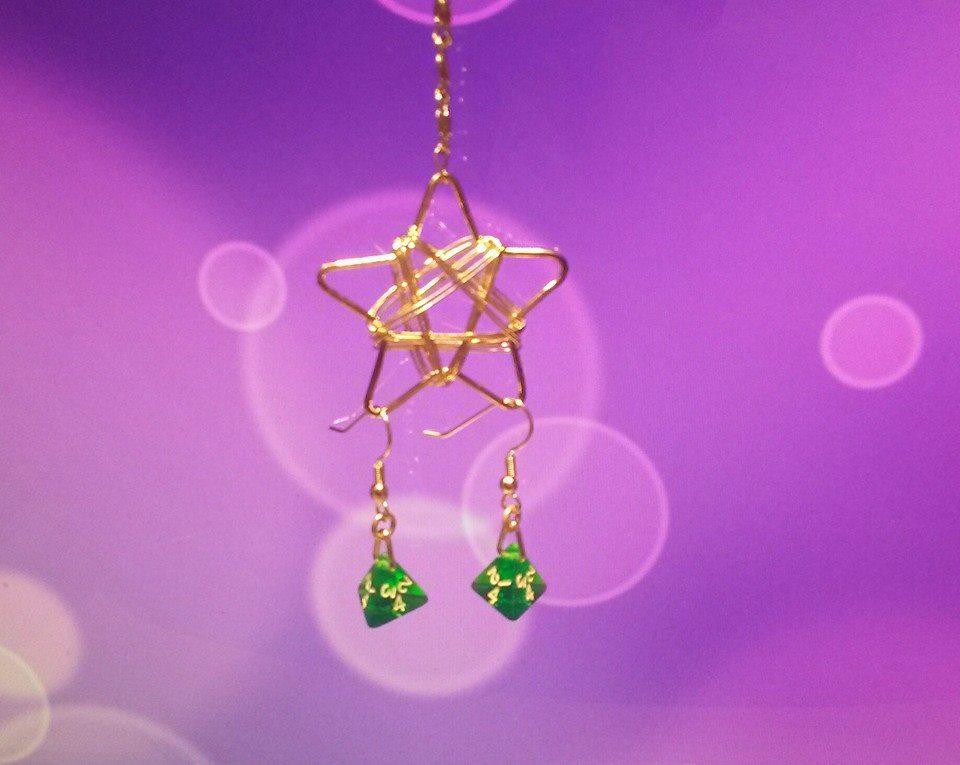 Dice Earrings 3 by Ajalee-Jewelry