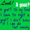 A Goat by LuminousLuck
