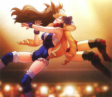 Luvia vs Rin 2 by sonicranger2