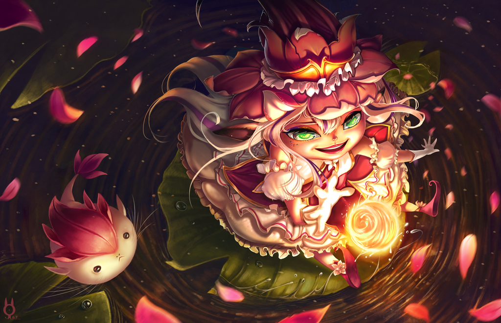 Personal New skin for Lulu from League of Legend!! by Bunny-spirits