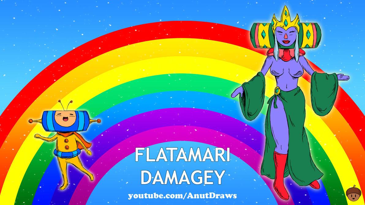 Flatamari Damagey by AnutDraws