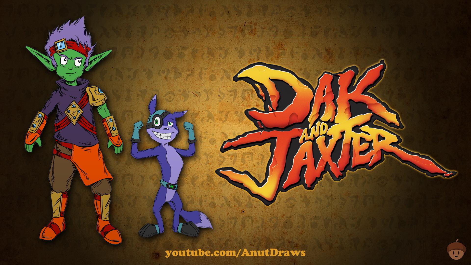 Dak and Jaxter by AnutDraws