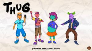 Thug by AnutDraws