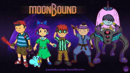 MoonBound by AnutDraws