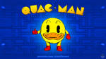 Quac-Man by AnutDraws