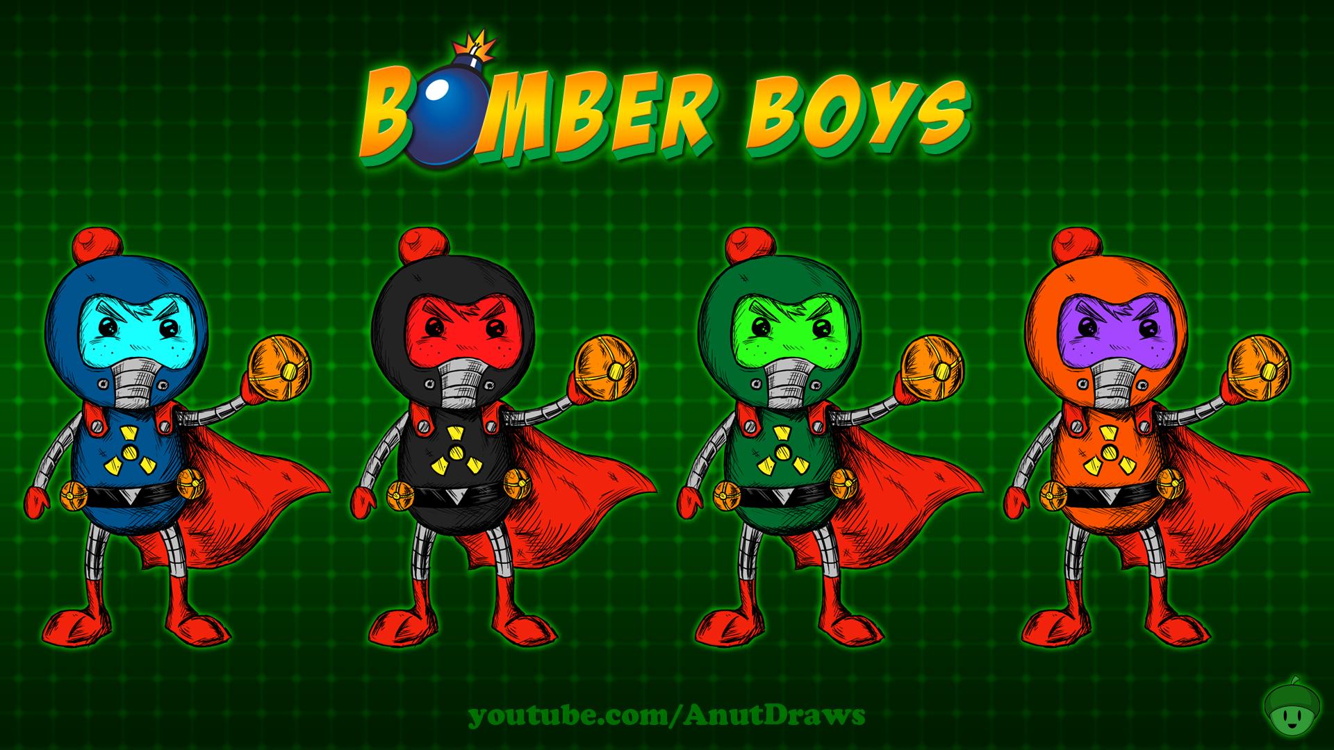 Bomber Boys by AnutDraws