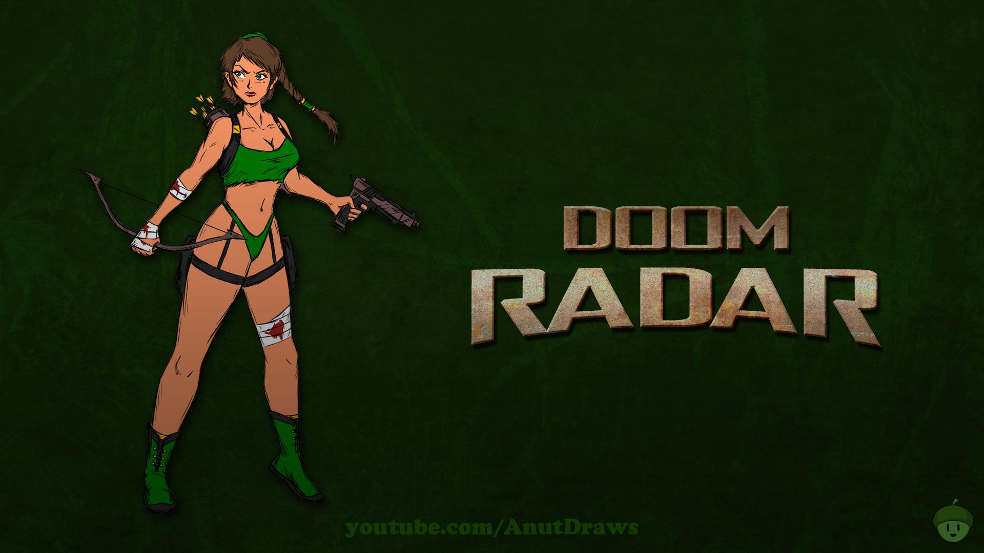 Doom Radar by AnutDraws