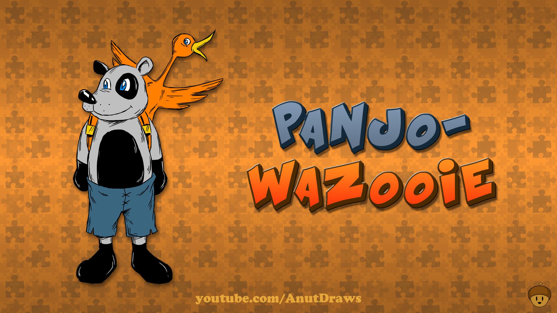 Panjo-Wazooie by AnutDraws