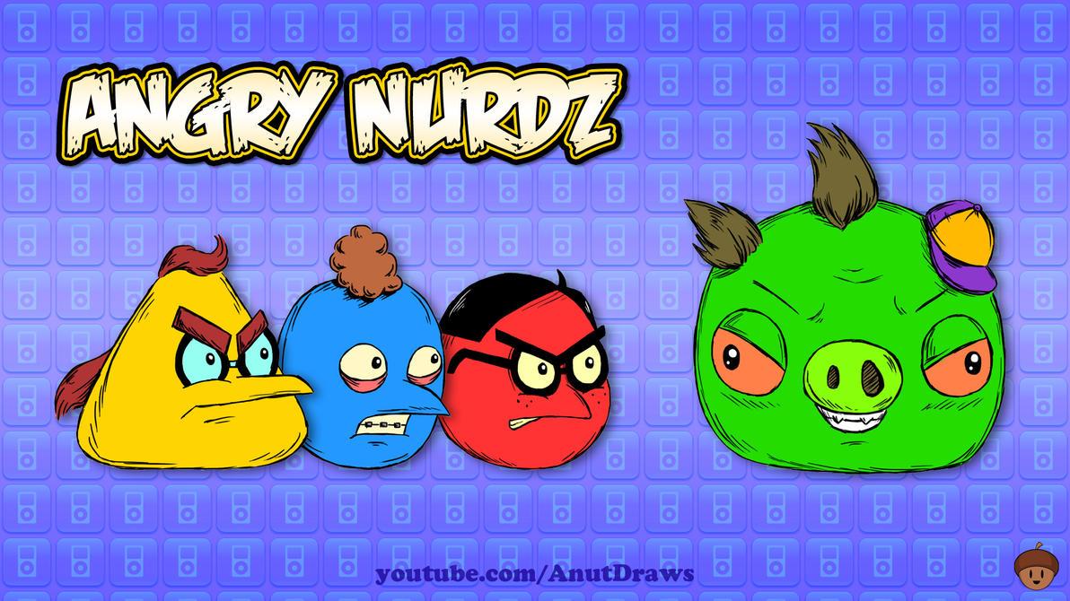 Angry Nurdz by AnutDraws