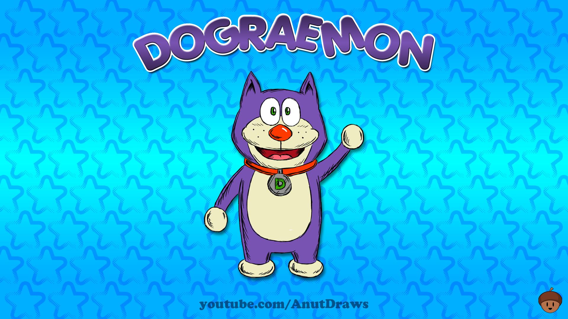Dograemon by AnutDraws