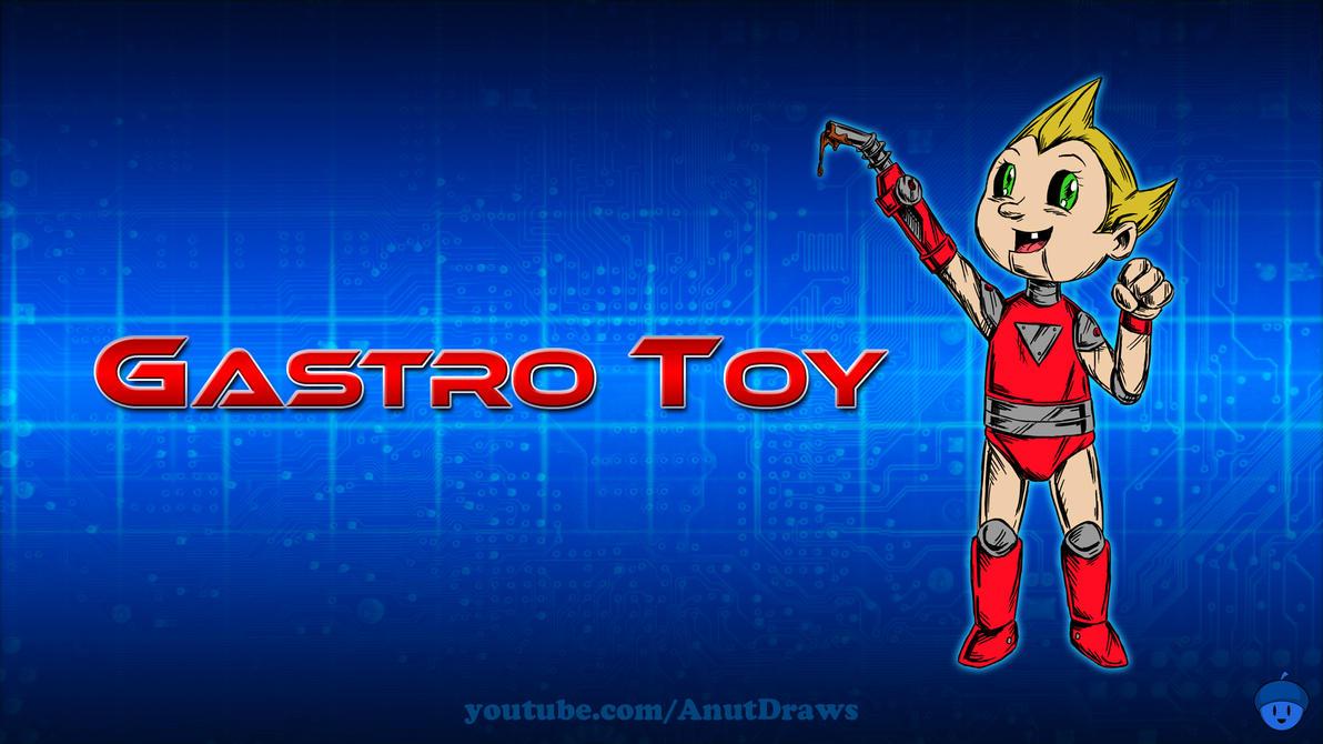 Gastro Toy by AnutDraws