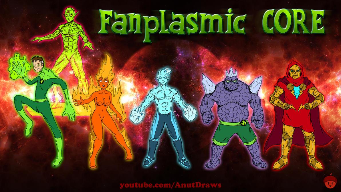 Fanplasmic Core by AnutDraws