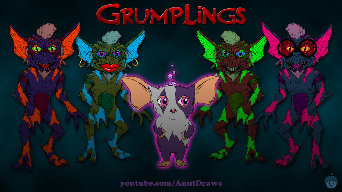 Grumplings by AnutDraws