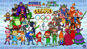 Zonec and Tomato: Battle at the Olympics