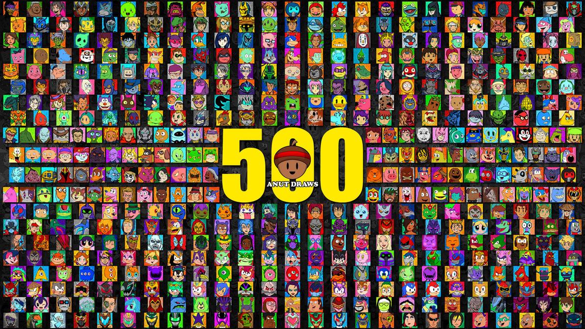 ANUT DRAWS 500 by AnutDraws