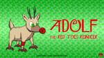 Adolf the Red Toes Reindeer