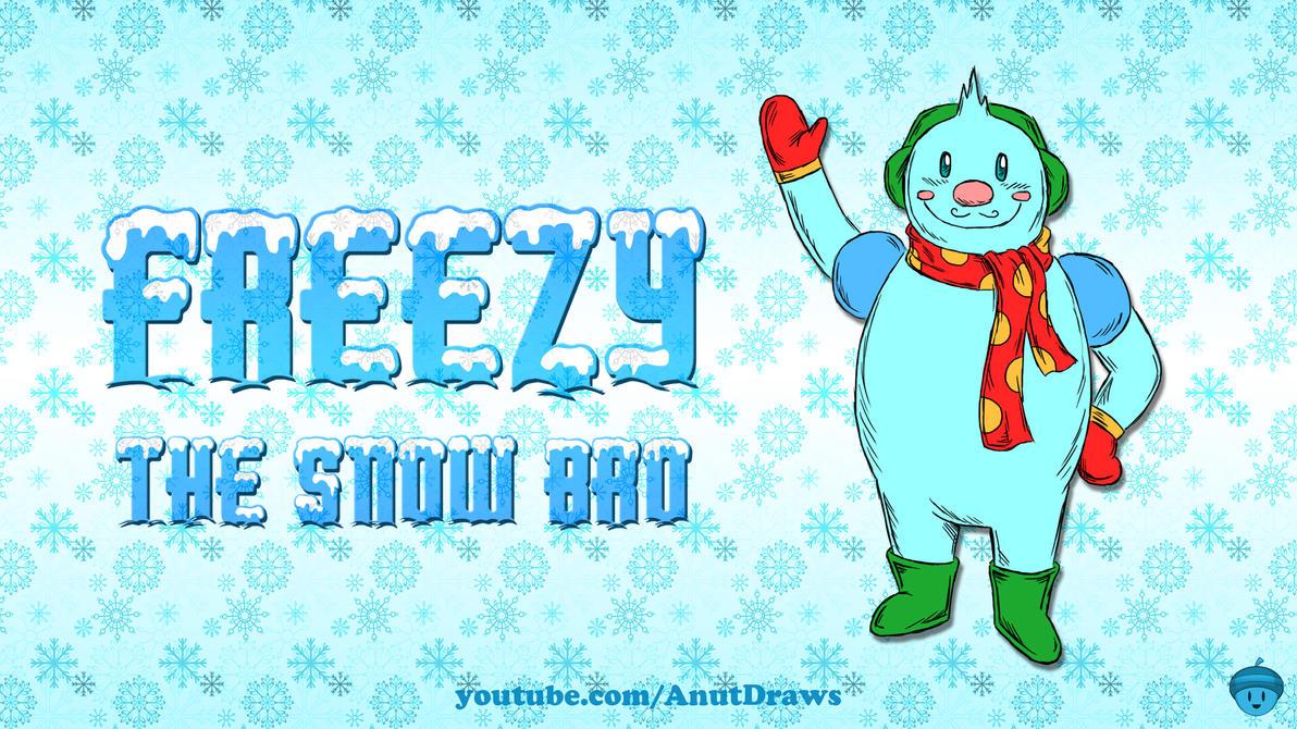 Freezy the Snow Bro by AnutDraws