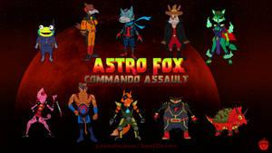 Astro Fox: Commando Assault
