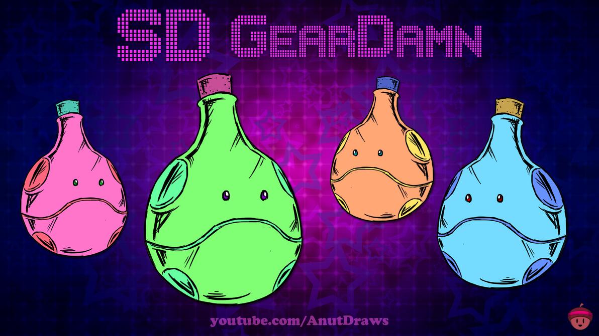 SD GearDamn by AnutDraws
