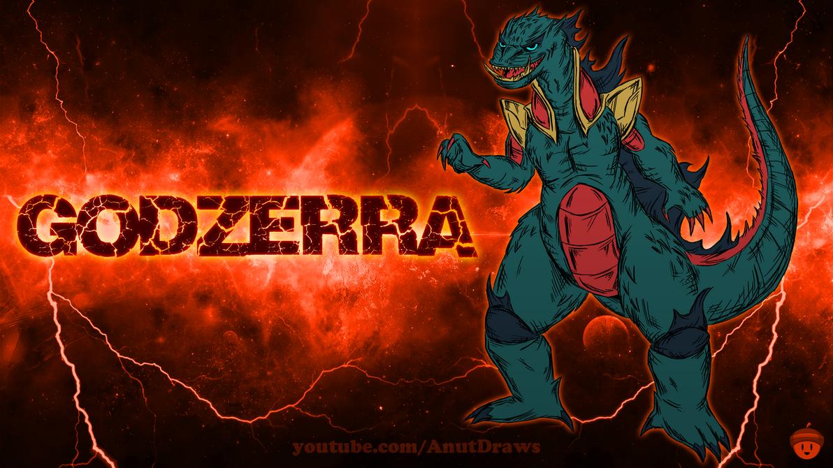 Godzerra by AnutDraws