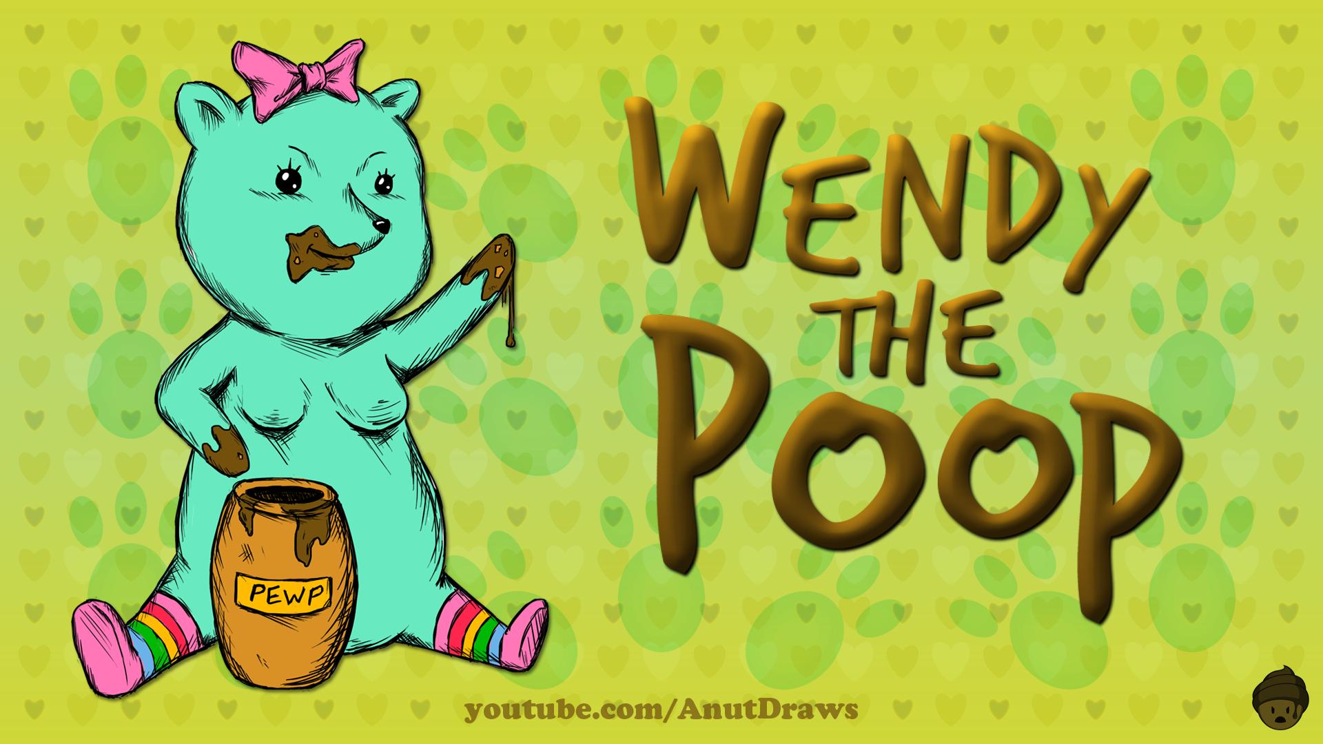 Wendy the Poop by AnutDraws