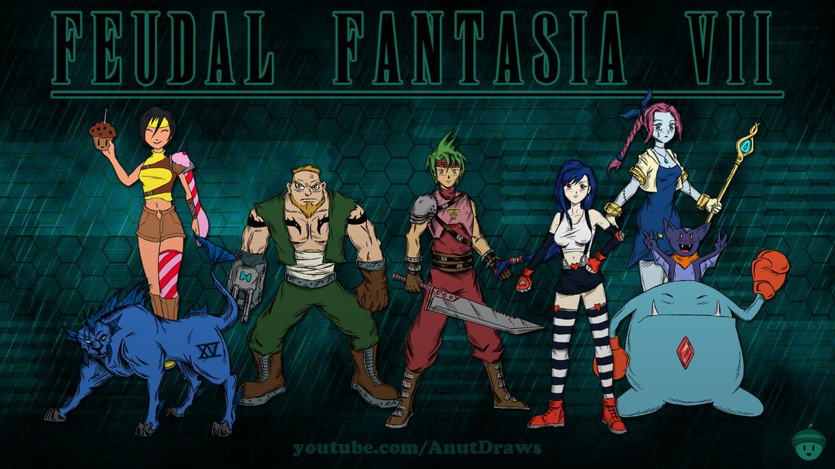 Feudal Fantasia VII by AnutDraws