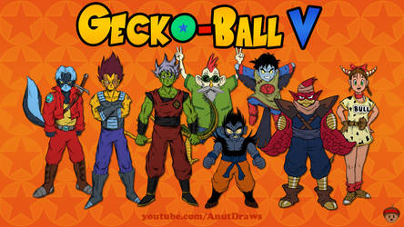 Gecko-Ball V by AnutDraws