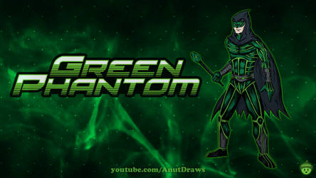 Green Phantom by AnutDraws