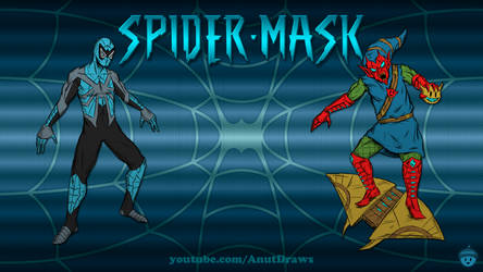 Spider-Mask by AnutDraws