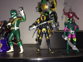 Power Rangers Toy Collection 036: Dai Shi by AnutDraws