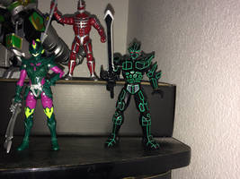 Power Rangers Toy Collection 038: Ecliptor by AnutDraws