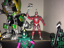 Power Rangers Toy Collection 039: Lord Zedd by AnutDraws