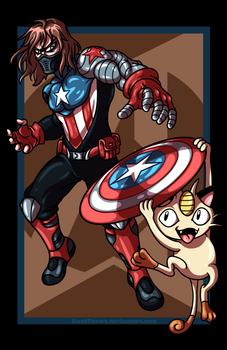 Winter Soldier vs. Meowth
