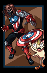 Winter Soldier vs. Meowth