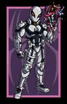 Agent Venom vs. Kuro VARIANT by AnutDraws