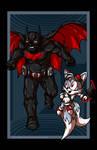 Batman vs. Tails VARIANT