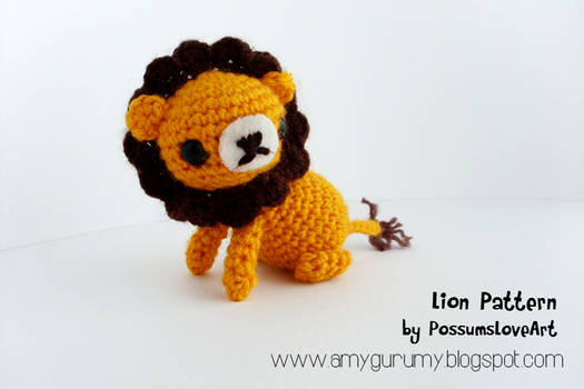 Lion pattern by Chaitwee
