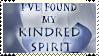 stamp - My kindred spirit by pallottili