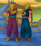 Comm - Piccolo and his father